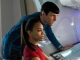 """Star Trek Into Darkness Review """"That premature music blasting through the cinema could make Zachary Quinto's inconsistent Spock ears flyoff"""""""